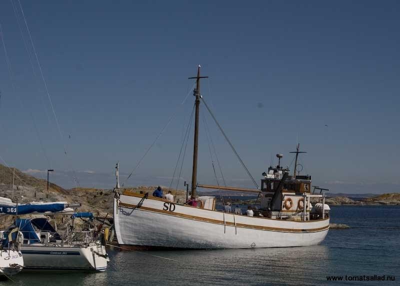 en annan gammal båt