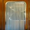 detalj dörr Blå tåget