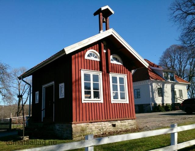 Ett litet hus vid Råda Säteri