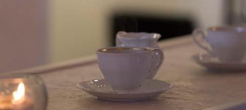kaffekoppar hemma hos Edith