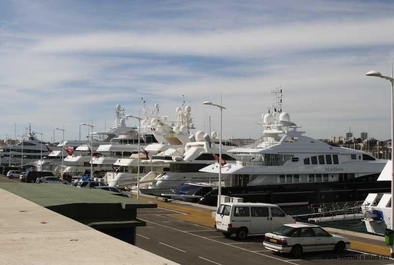 De riktigt stora yachtarna
