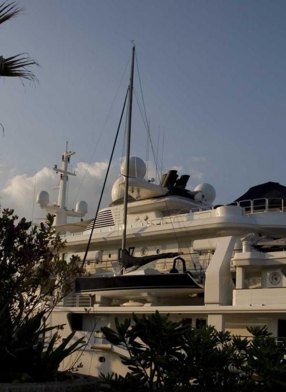 Segelbåt ombord yacht
