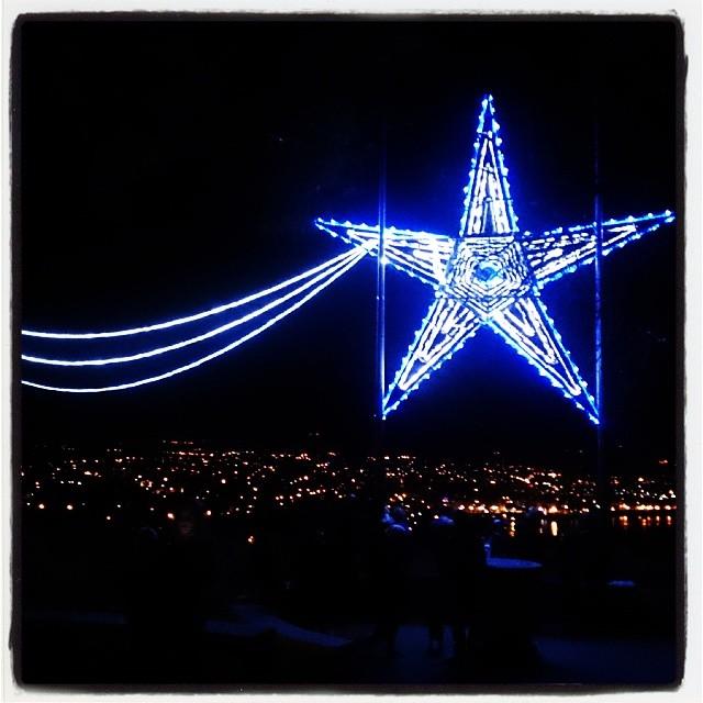 Stjärna ovanför Antibes