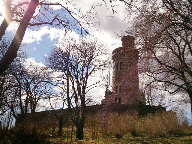 Dagens bild: vattentornet i Slottskogen