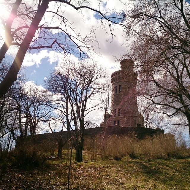 Varje dag som jag ser något nytt är en bra dag. Idag har jag för första gången besökt #vattentornet i #slottsskogen #vattentorn #torn #oldwatertower #Göteborg