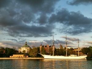 Dagens bild: utsikt över Skeppsholmen