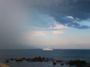 Spännande vädervecka på franska Rivieran