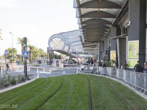 Spårvagnen till Nice flygplats är snart här